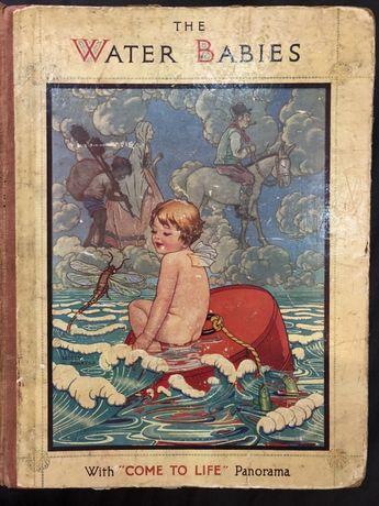 Винтажная английская книга Дети Воды Чарльз Кингсли The Water Babies
