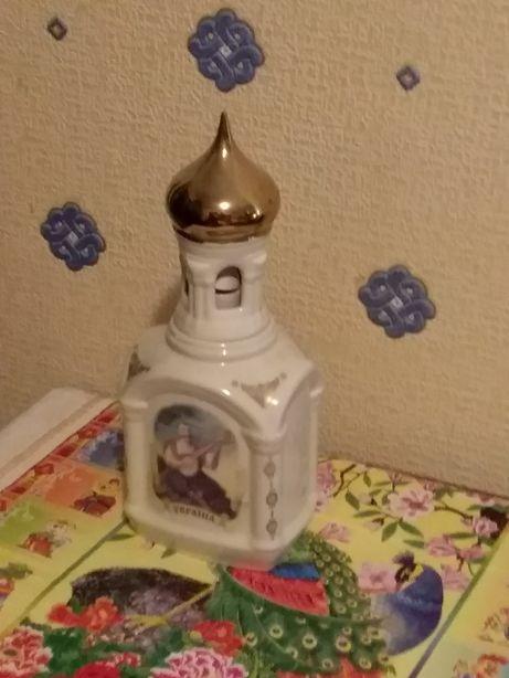 Бутылка керамика колекционная