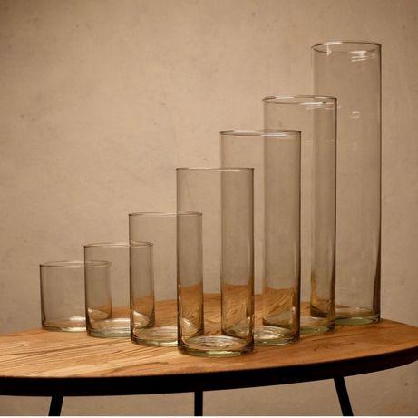 Стеклянные колбы. Стеклянные вазы.