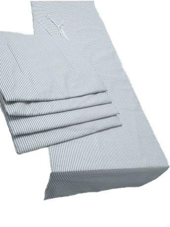 KOMPLET 4x poduszek na krzesło + bieżnik