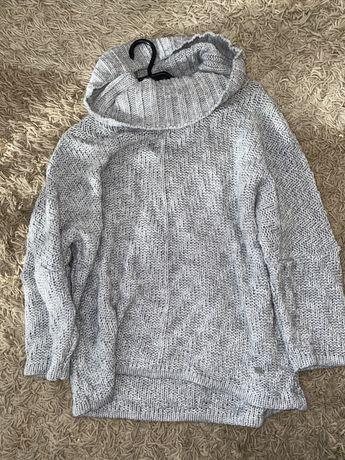 Szary golf/sweter