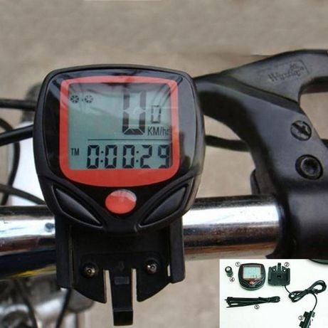 Велокомпьютер велоспидометр BN-518(SB-318) водонепроницаемый спидометр
