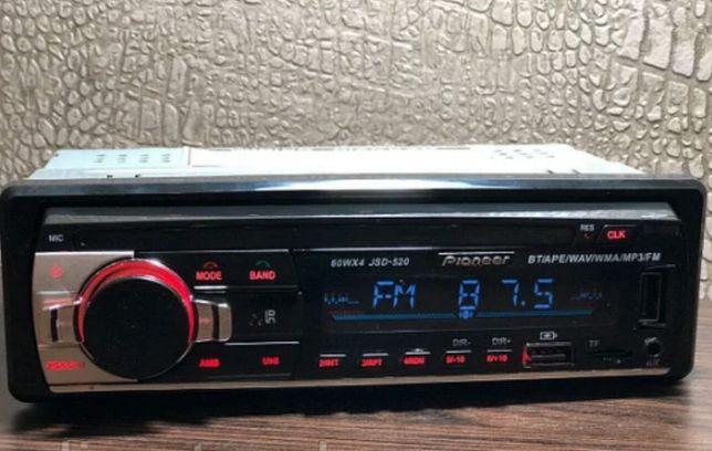 Магнітола Pioneer JSD - 520 з Bluetooth