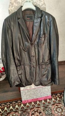 Продам кожаный пиджак Zara Man