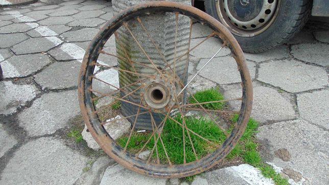 NSU 201 ZDB stare przedwojenne tylne koło motocykl zabytek