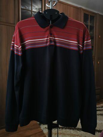 Мужская рубашка, батник, свитер весна, 3 пуговицы  большого размера