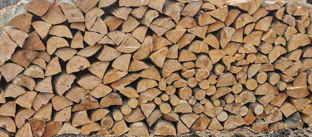 Drewno Kominkowe Opałowe BRZOZA, BUK, Grab TRANSPORT GRATIS
