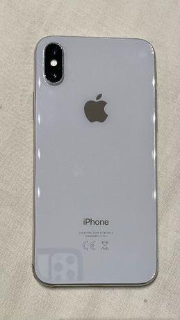 iPhone X 64 gb srebrny