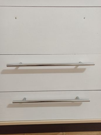Меблева ручка хром 26 см