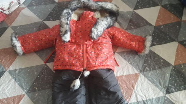 Продам зимний комбинезон детский