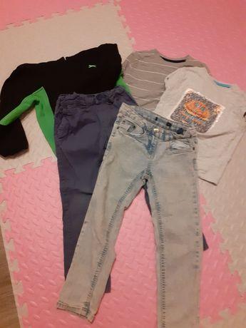 Ubrania dla chłopca 5-6 lat