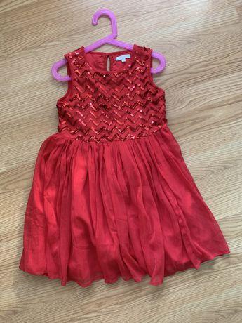 Нарядное платье, платье 122-128, платье 6-7 лет
