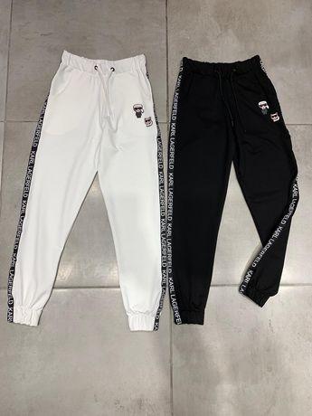 Spodnie dresowe Damskie Karl Lagerfeld M-XL Outlet Logowane Nowość.