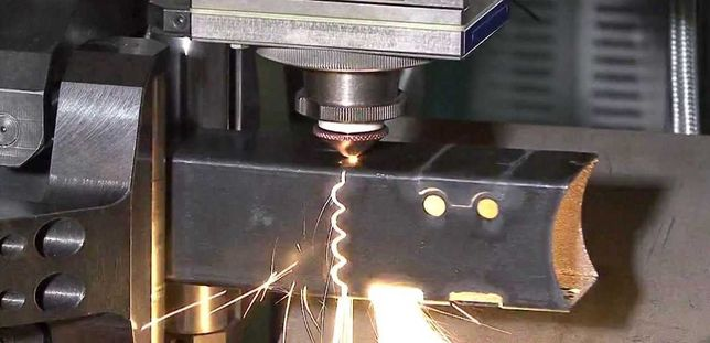 ЧПУ гибка листа и лазерная ЧПУ резка металла листа, трубы
