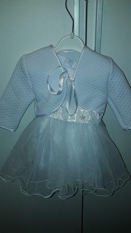 Sukienka z bolerkiem do chrztu 56