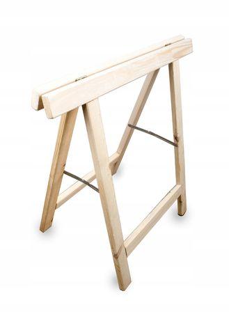 Koziołek- kobylka drewniana