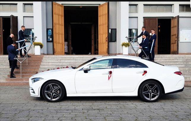 Mercedes CLS AMG auto do ślubu