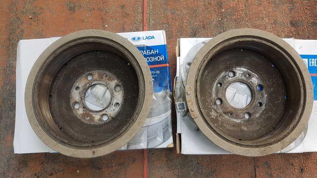 Задние тормозные барабаны ВАЗ 2108-2115 (б/у)
