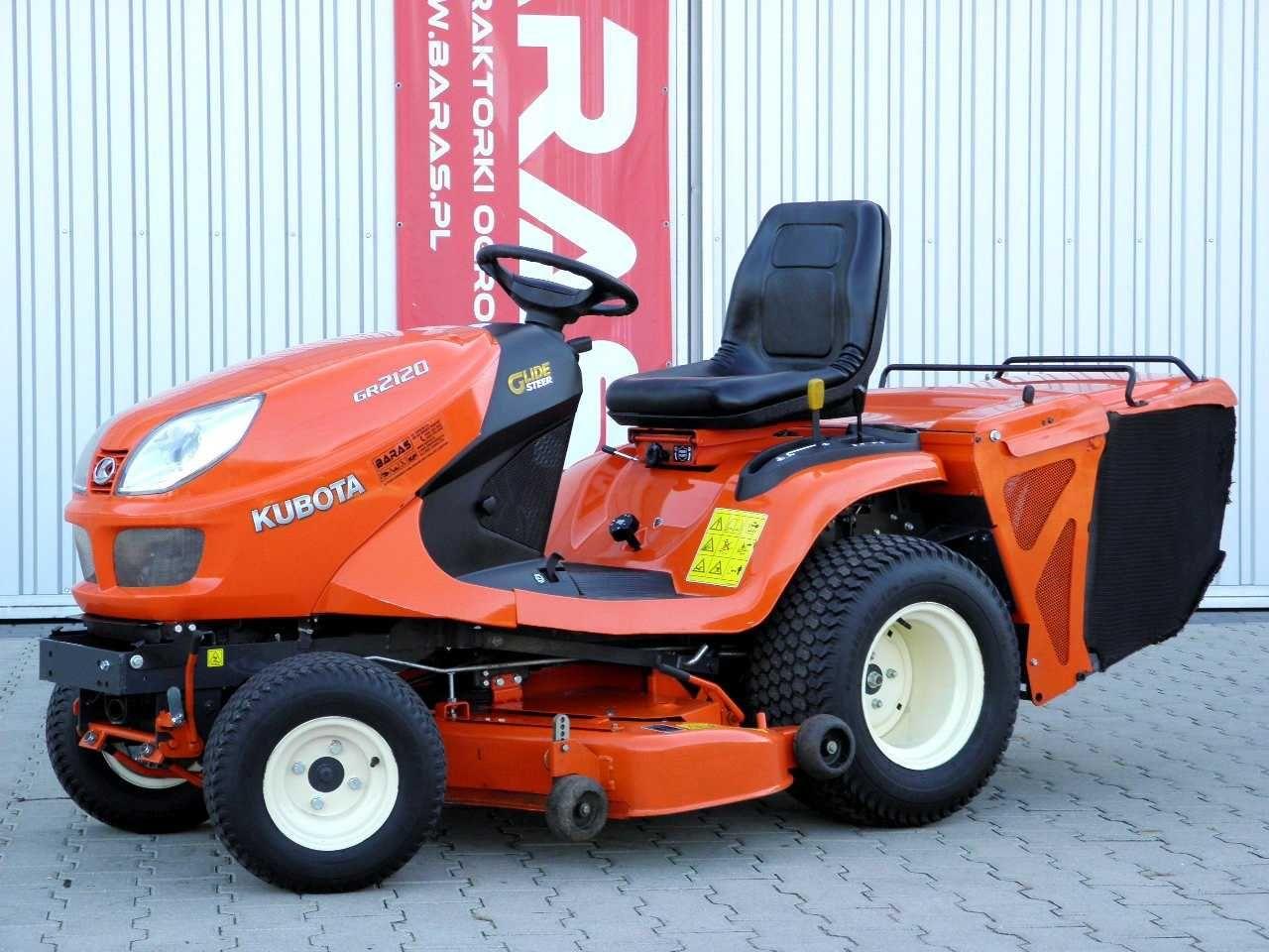 Traktor ogrodowy Kubota GR2120 4x4 (180902) - Baras