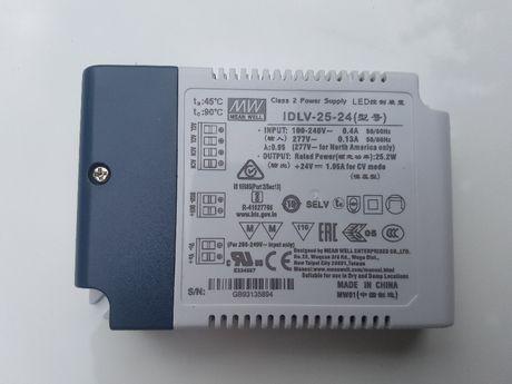 Transformador MEAN WELL IDLV-25-24, IP20