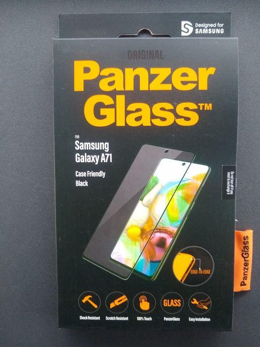 Szkło Panzer Glass Samsung A71 Black Reda - image 1