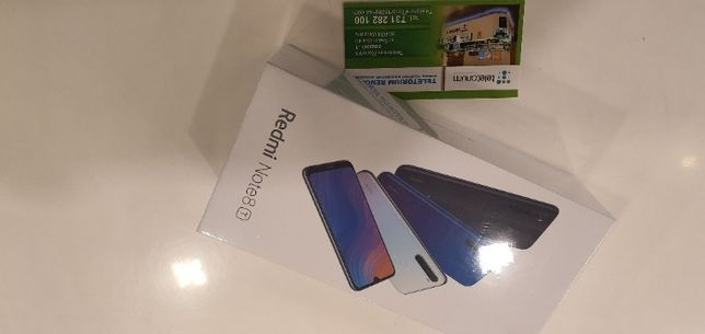 NOWY Telefon Xiaomi Note 8T 4/64 GB BIAŁY Teletorium Renoma Wrocław