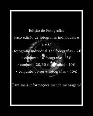 Edição Fotografias