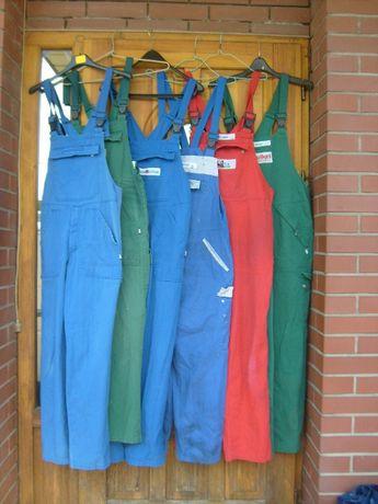 Spodnie ogrodniczki robocze niemieckie używane