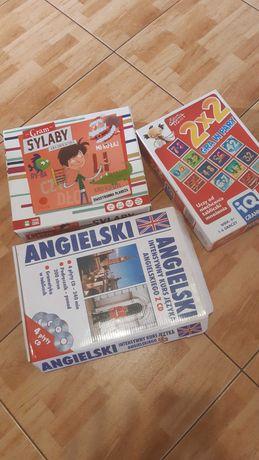 Angielski, Polski i Matma
