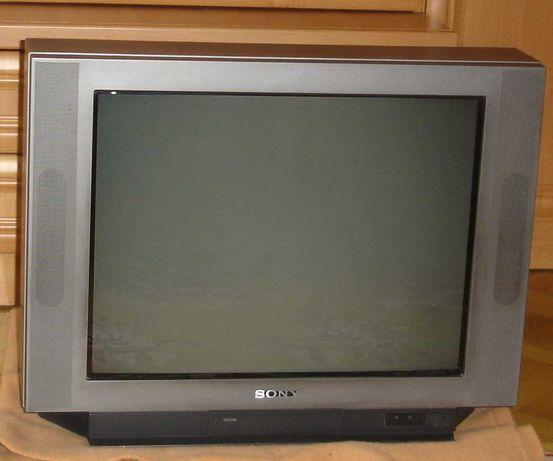 Telewizor Sony Trinitron KV-25FX20K wyprodukowany w Hiszpanii