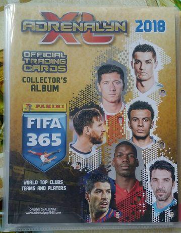 Album z kartami Adrenalyn 2018 Fifa 365