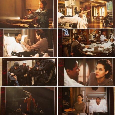 Kolekcjoner Kości  - x8 karty promocyjne - kadry kinowe