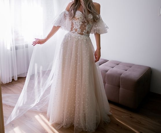 Suknia ślubna Lolita Carmen Agnieszka Światły 2020