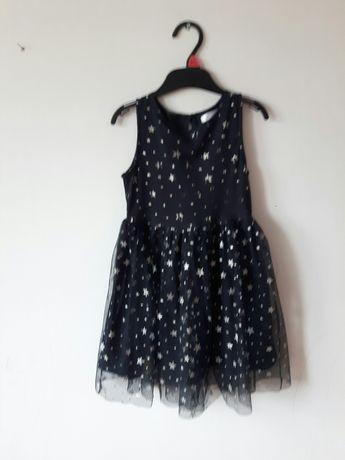 Sukienka wizytowa elegancka rozmiar 116