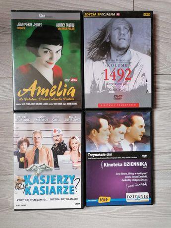 4 sztuki filmy jak nowe Amelia. Kasjerzy i Kasiarze, Kolumb, 13 dni