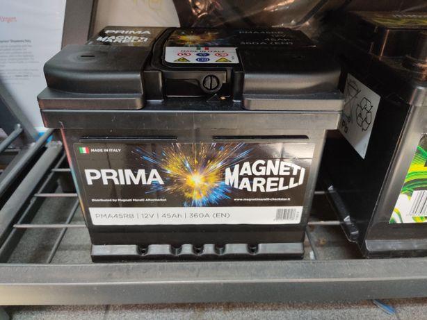 Akumulator Magneti Marelli Prima PMA45RB 12V 45Ah 360A P+ Kraków