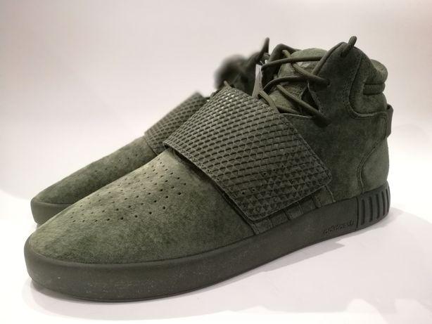 Nowe męskie buty Adidas Tubular Invader Strap rozmiar 44 2/3 285 mm