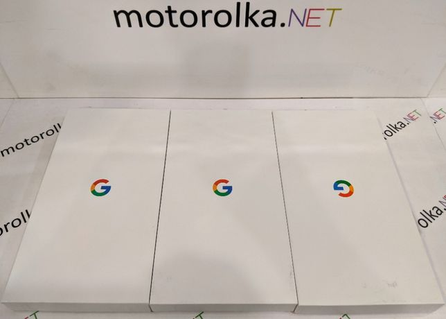 Google Pixel 3a 64GB/4GB Just Black Clearly White Purple-ish Slim Box