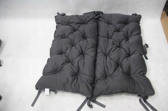 Poduszka na ławkę, 100 x 98 cm, szara połysk