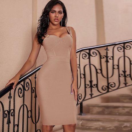 Продам новое бандажное платье размер л.