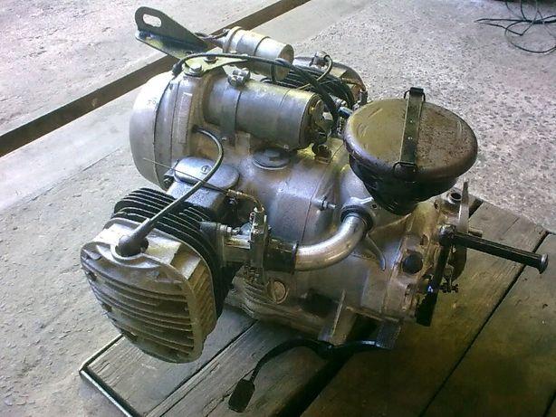 Урал колесо(К-750 двигатель Днепр мотор МТ)М-72 вилка мост) редуктор