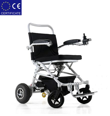 Складная электроколяска для инвалидов W1023-26. Инвалидная коляска.