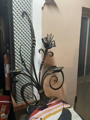 Vendo candeeiro de parede em bronse
