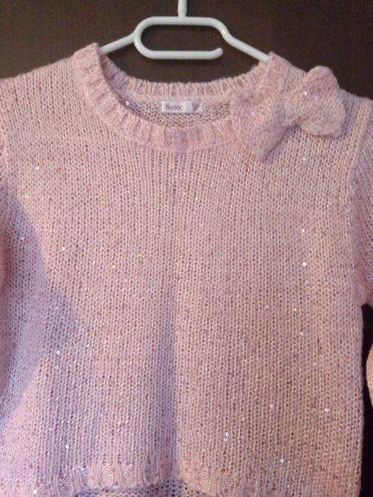 Śliczny świąteczny sweterek rozm 122 Trzebinia - image 1