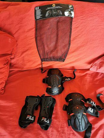 Proteções de skate e capacete