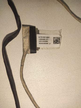 Шлейф LCD экрана Asus ROG GL753VE-DS74, ОРИГИНАЛ