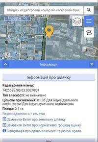 Земля 10 соток под постройку Александровна
