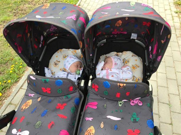 Bugaboo twin для двойни