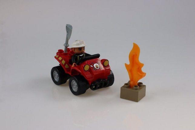 Lego Duplo 5603 quad straż pożarna
