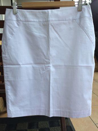 Biała, bawełniana spódnica od ORSAY w rozm. 38